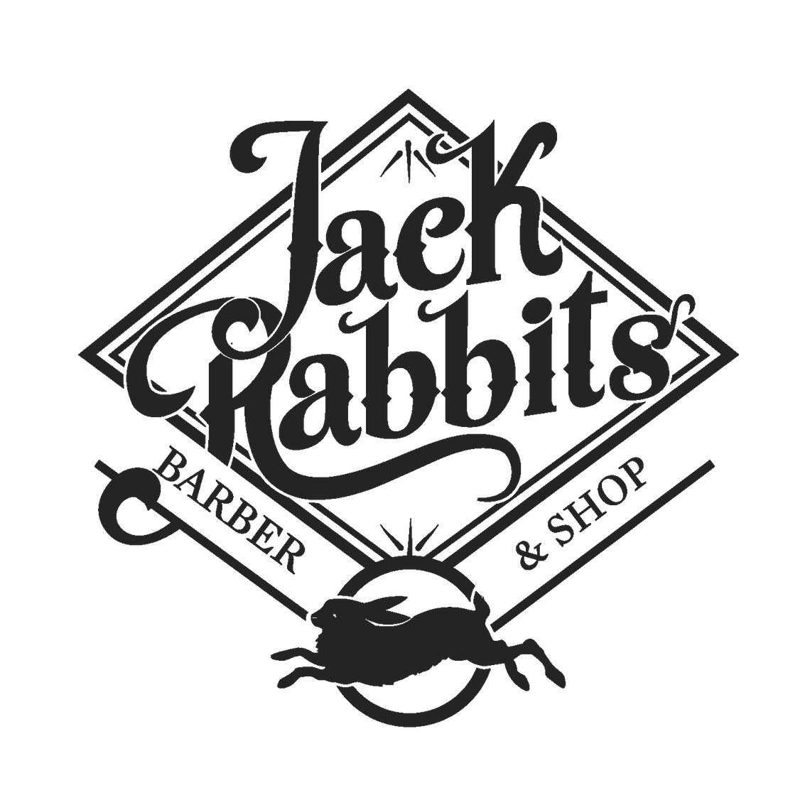 Logo for copywriting client Jack Rabbits