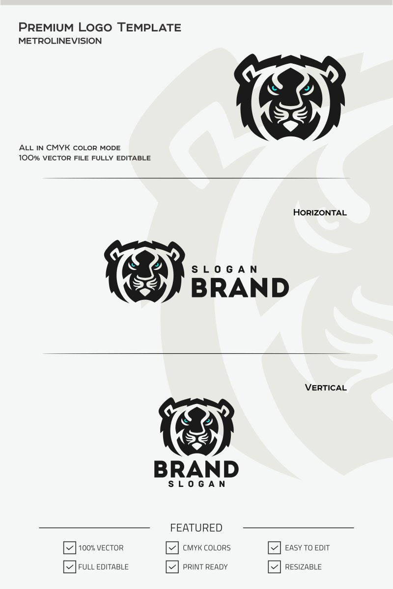 Tiger Logo Theme