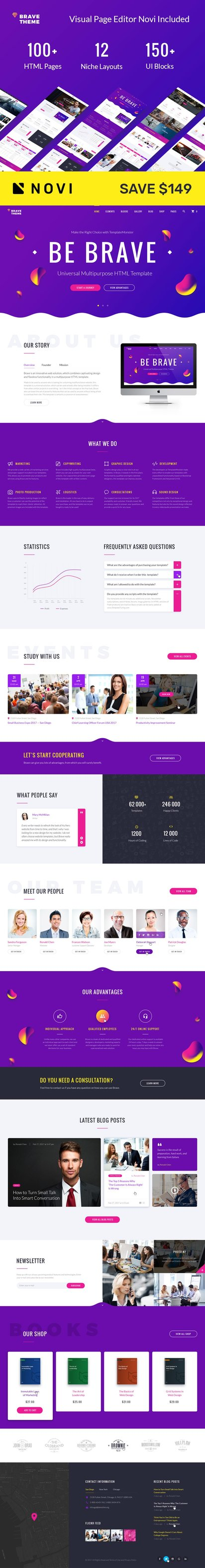 Multipurpose HTML Premium Website Template