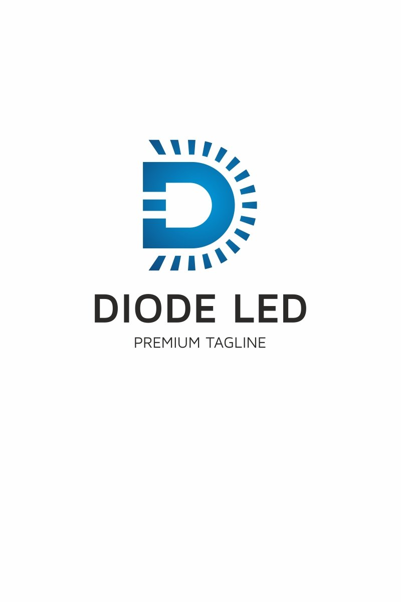 Diod Led Logo Template