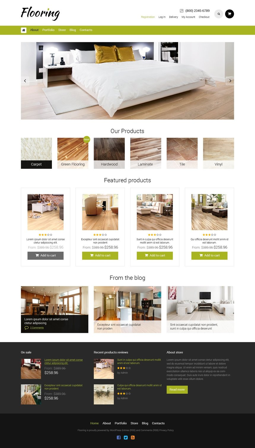Flooring Bootstrap WooCommerce Theme