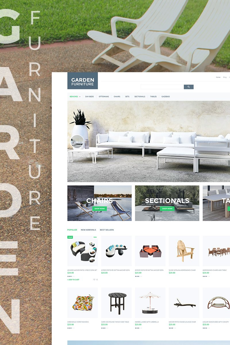 Garden Furniture Responsive PrestaShop Theme
