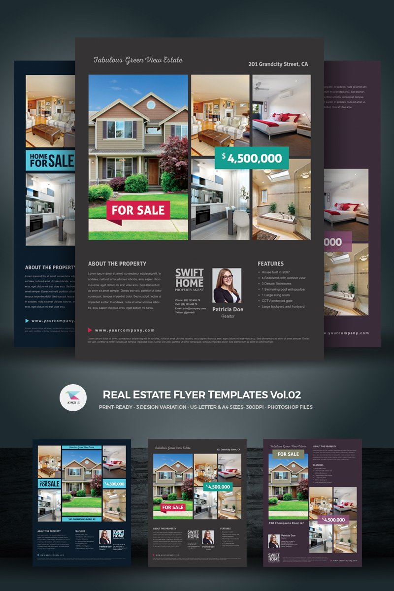 Real Estate Flyer Corporate identity Theme