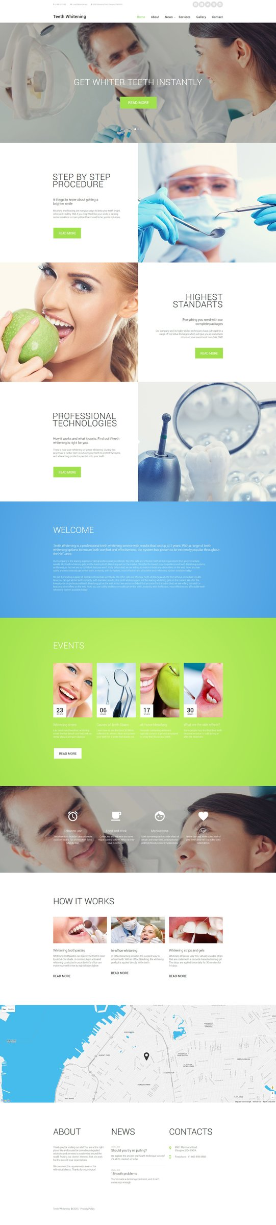 Hospital Website Templates - Weblium
