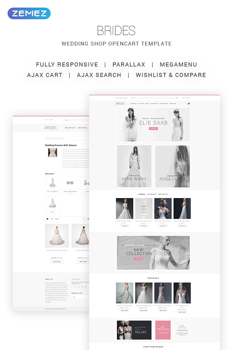 Wedding Website Templates - Weblium