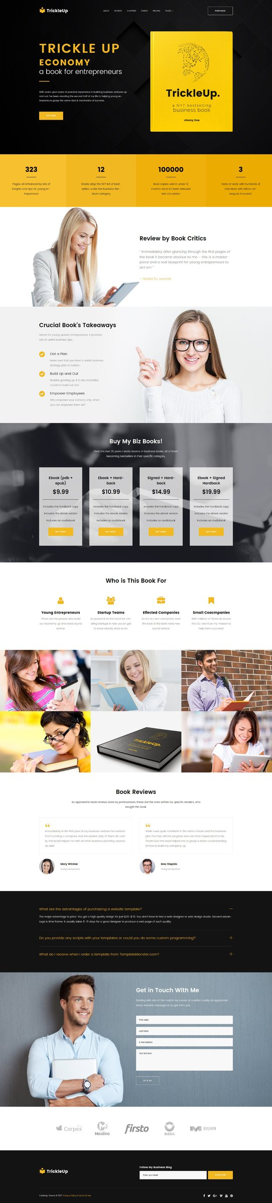 ook Landing WPML ready WordPress Template