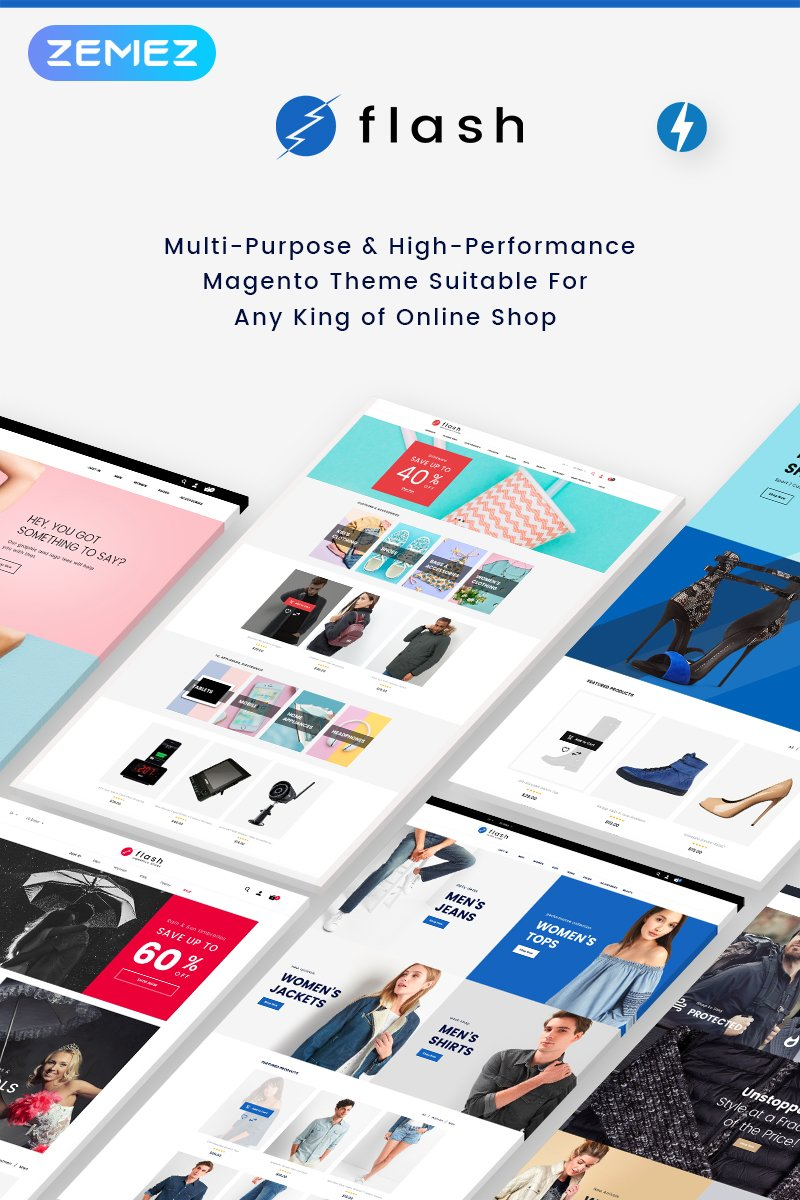 Multi-Purpose & High-Performance Magento Template