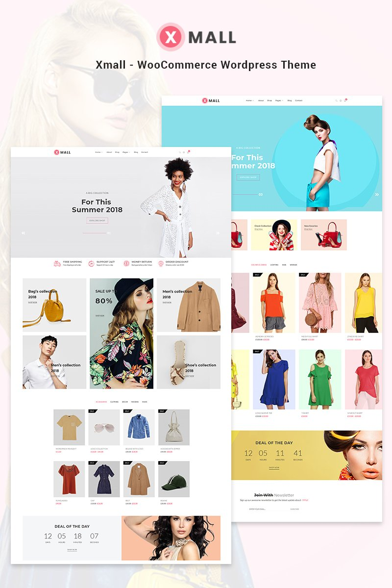 Fashion Bootstrap WooCommerce Template