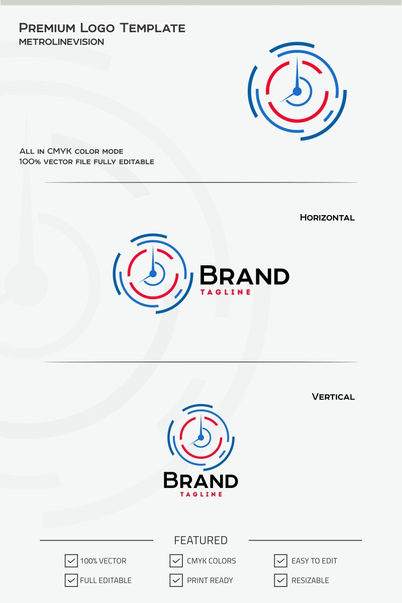 Time Logo Template