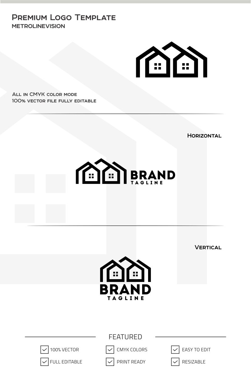 Real Estates Logo Theme