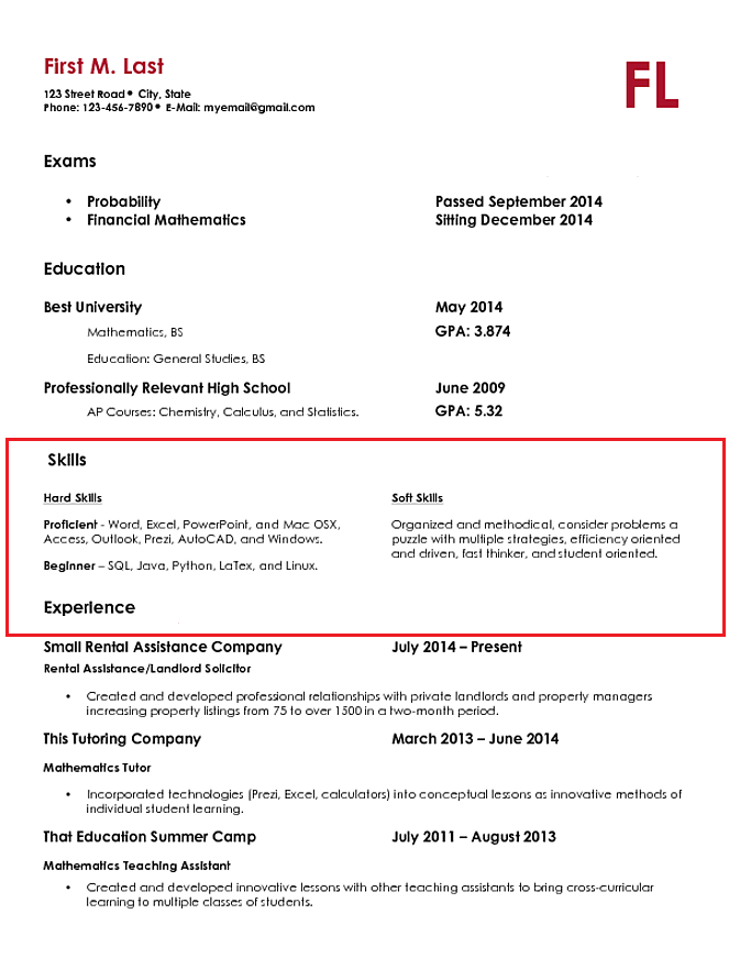 Top Skills To List On Resume Resumerates