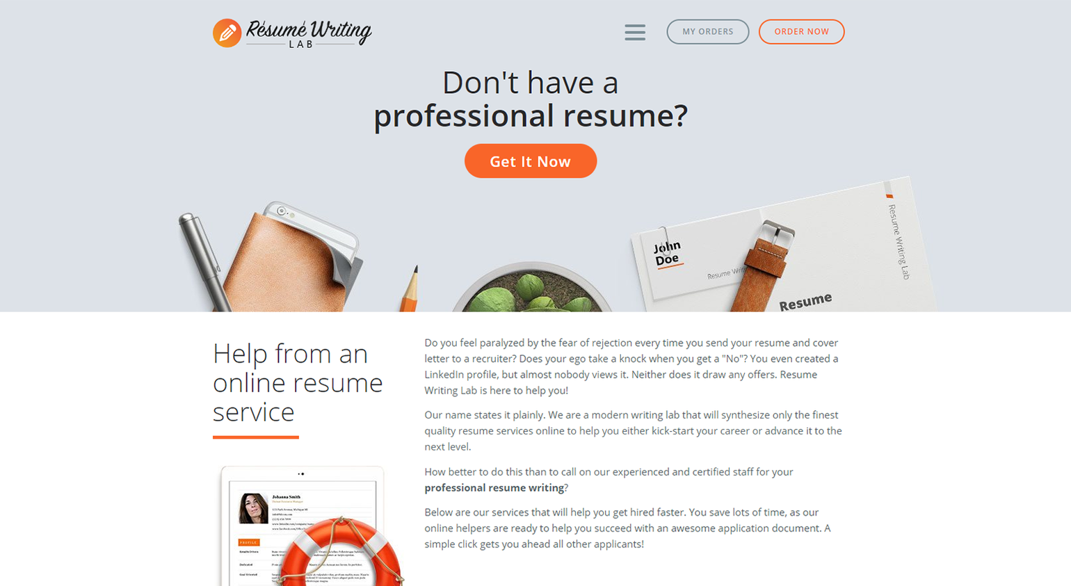 Resume Writing Lab