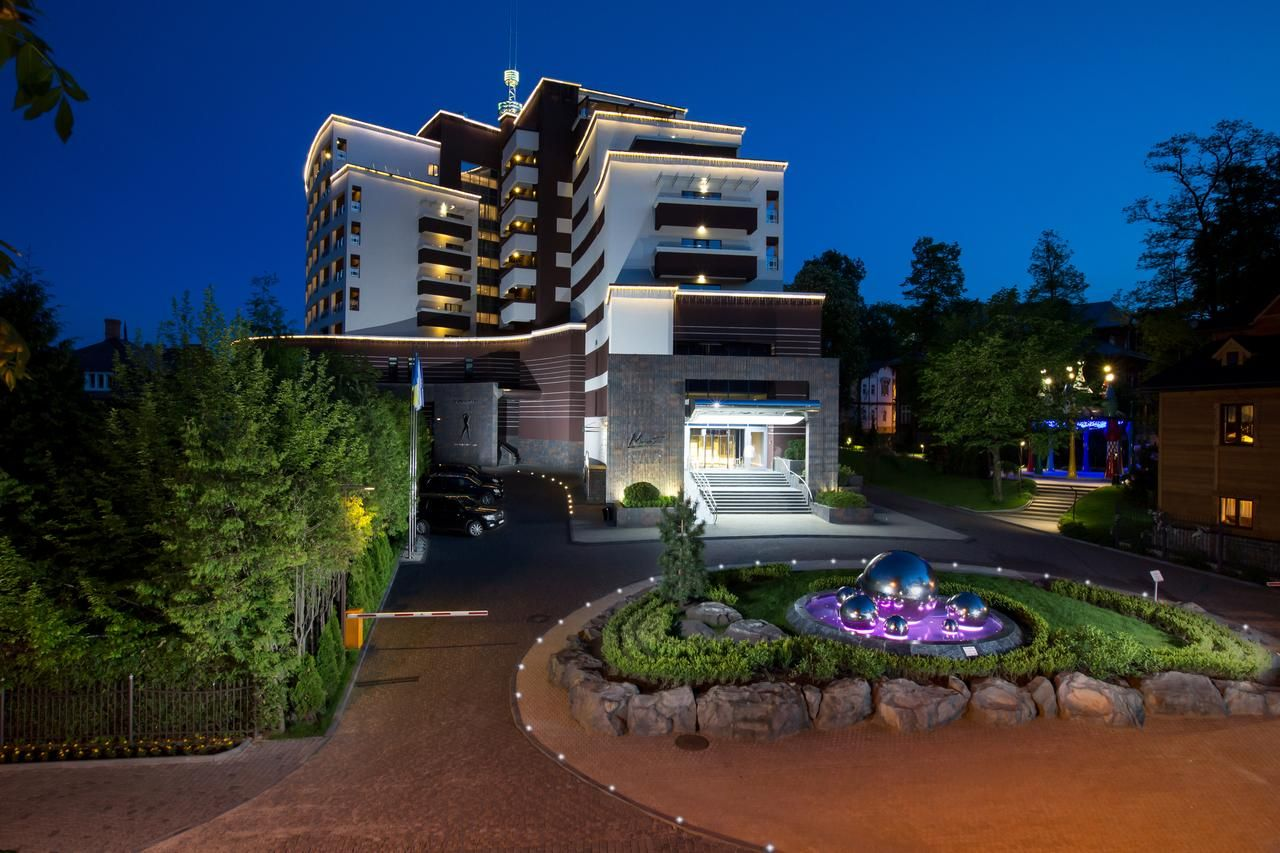 main building Mirotel Resort Truskavec