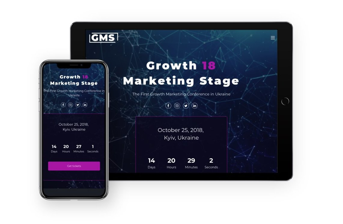 The Growth 18 Marketing Stage