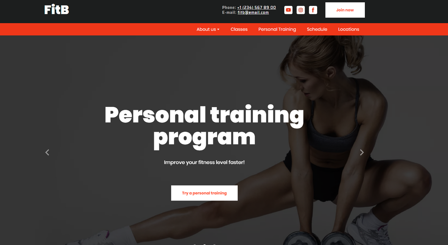 Crossfit Website Templates - Weblium
