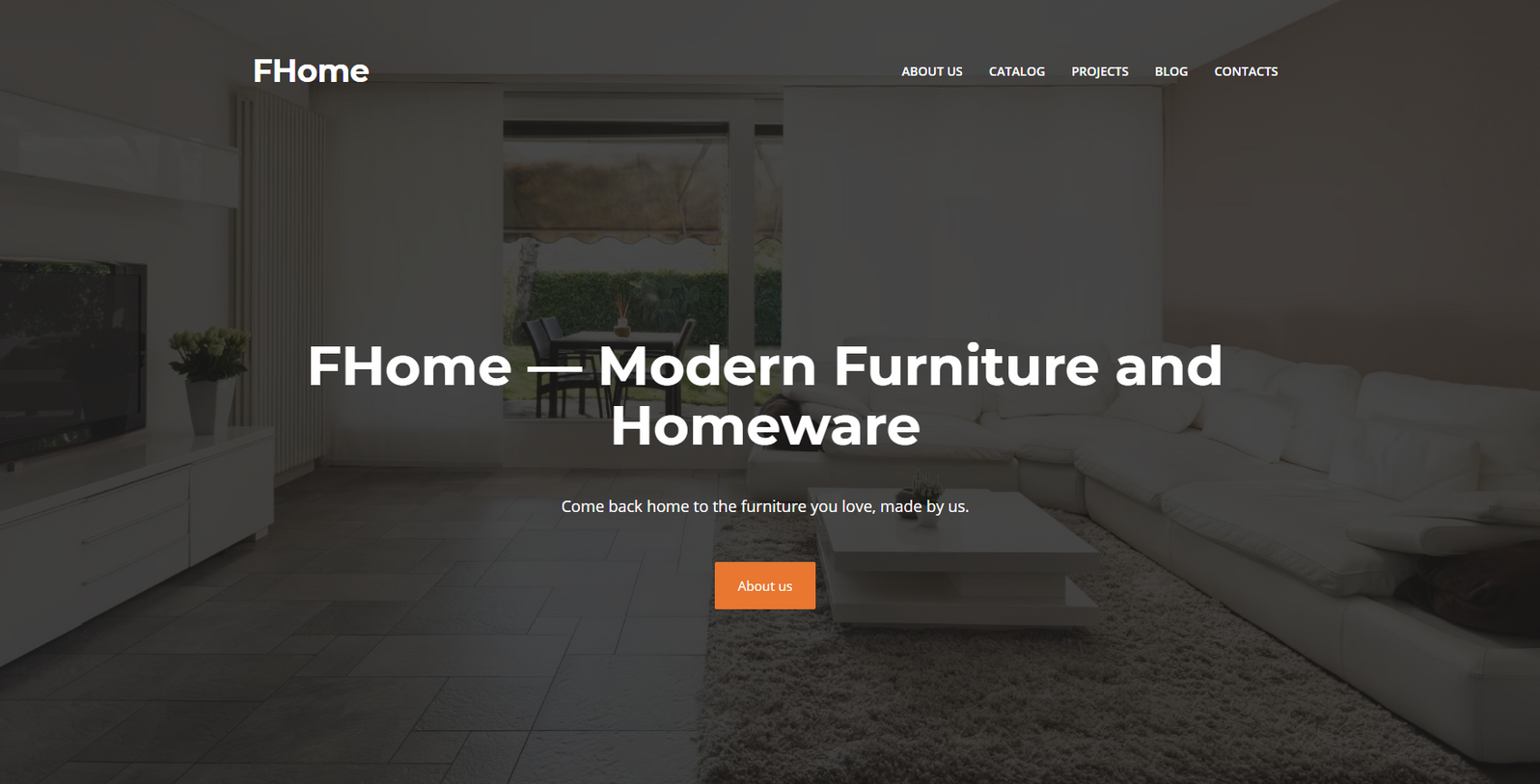 Homeware Website Templates - weblium