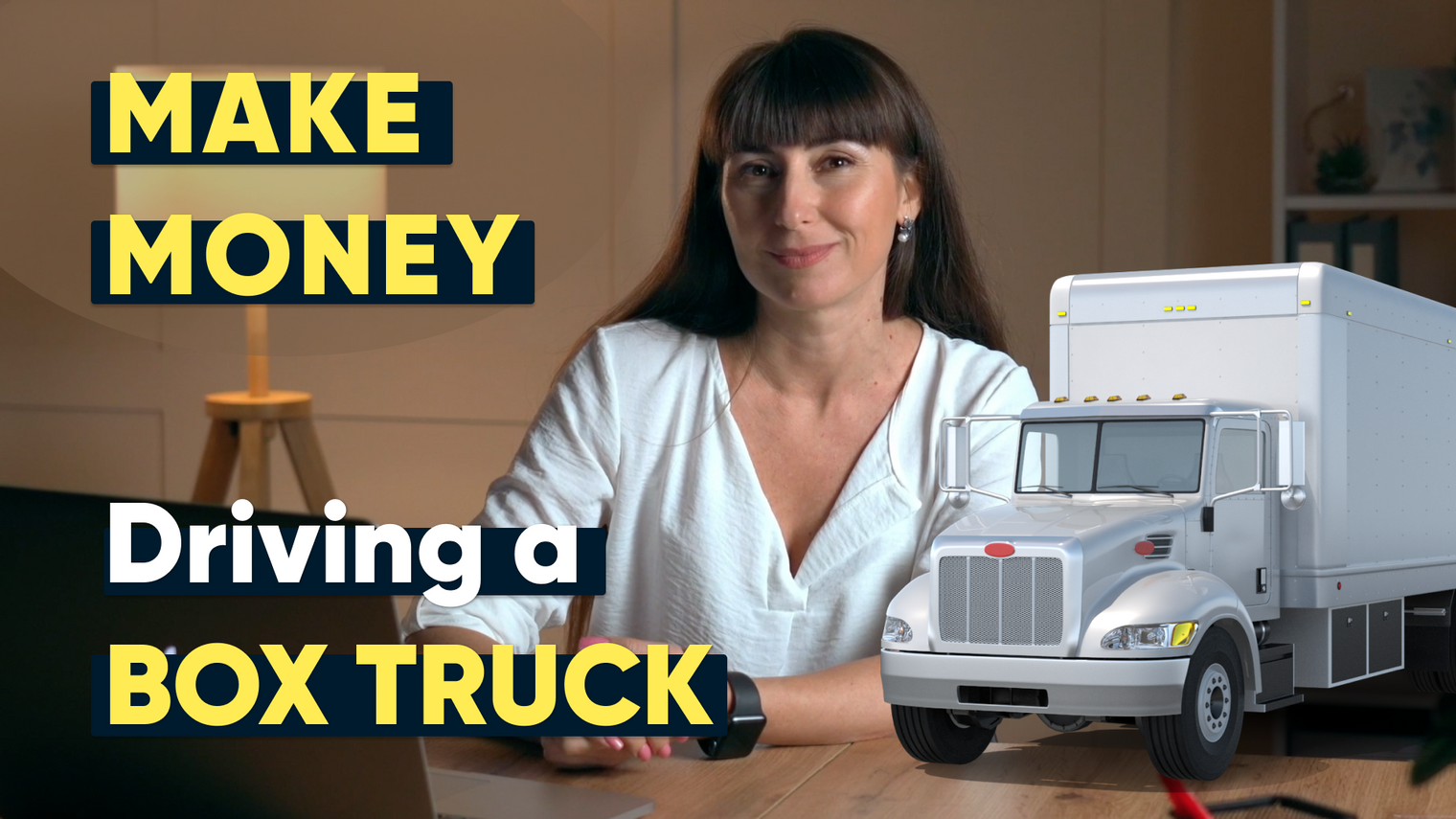 Make money driving a box truck