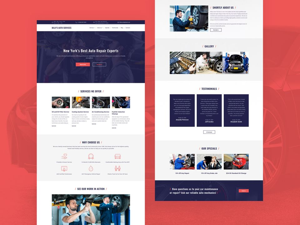 Wix Business Website Templates 2020 Weblium