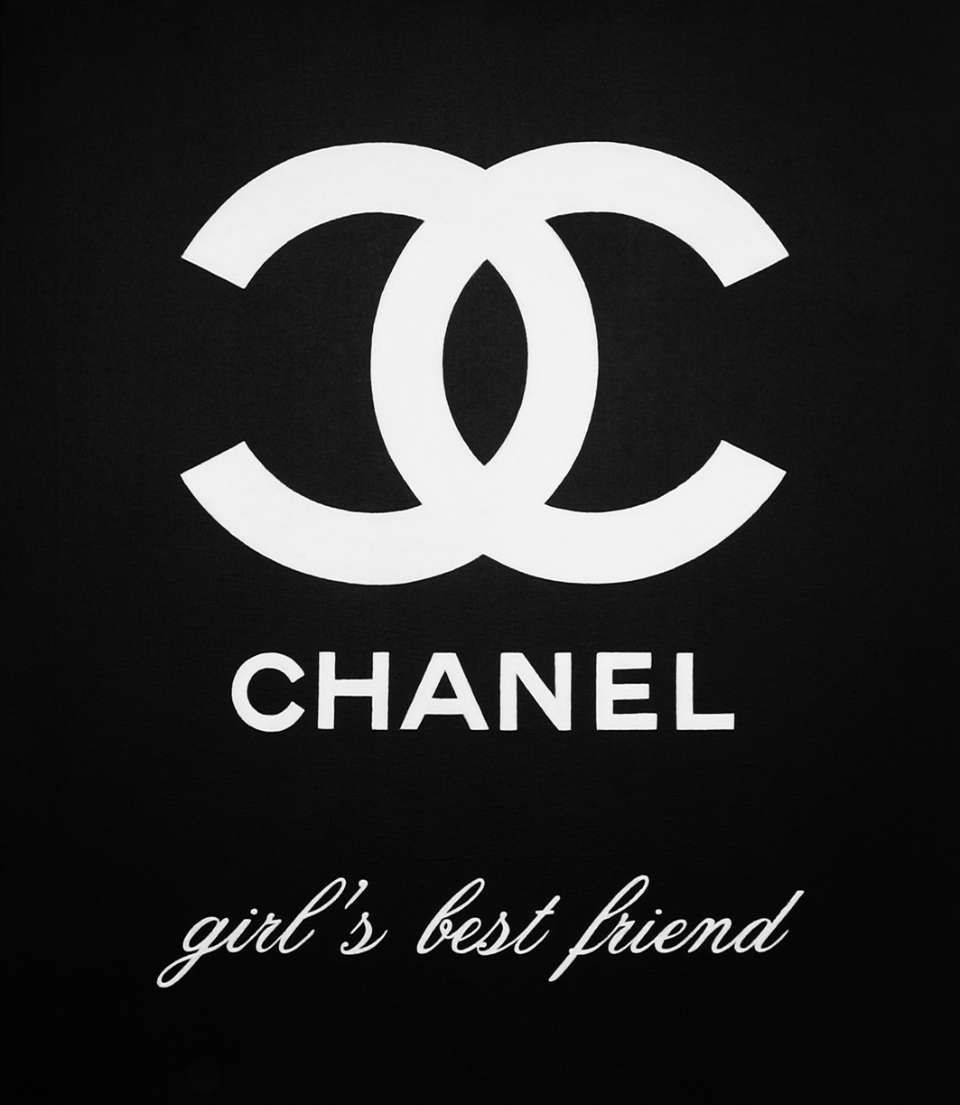 Chanel Is The Best Girl's Friend Forever - painting info page