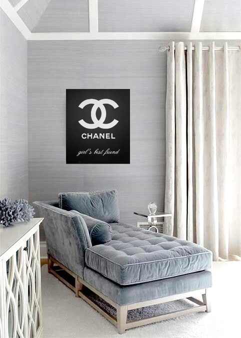 Chanel Is The Best Girl's Friend Forever additional 3 in interior