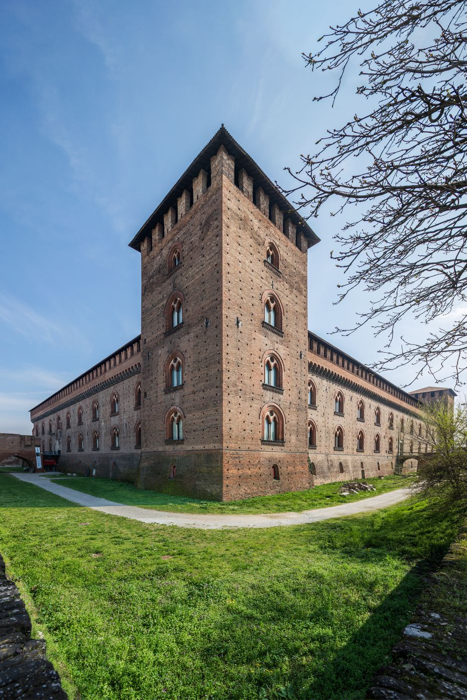 Pavia e il castello visconteo