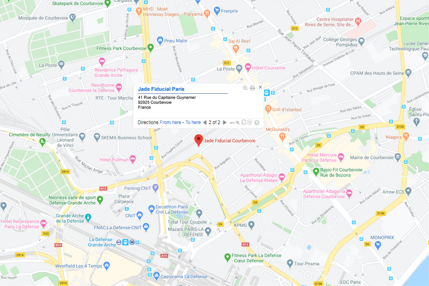 41 Rue du Capitaine Guynemer, 92925 Courbevoie, France