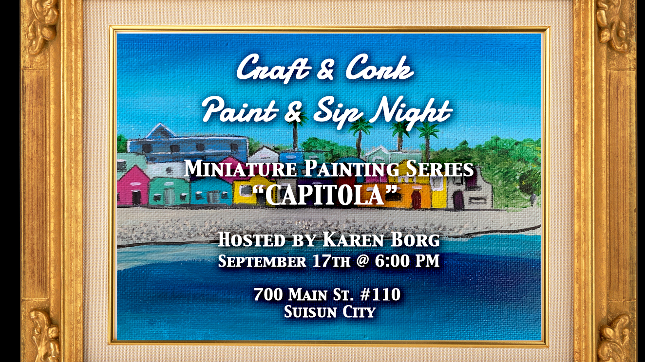 Paint & Sip night at Craft & Cork
