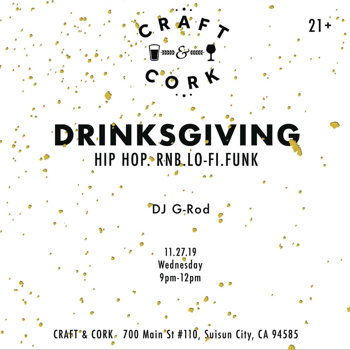 Friday is Trivia Night at Craft & Cork