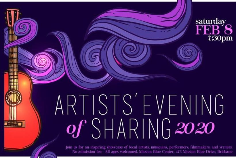 Brisbane Artists' Evening of Sharing 2020