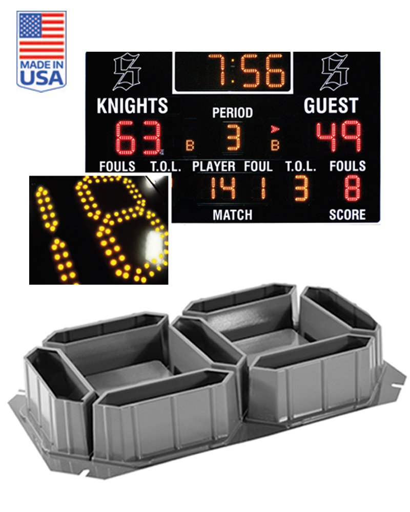Thermoforming - Score Board LED Light  Holder