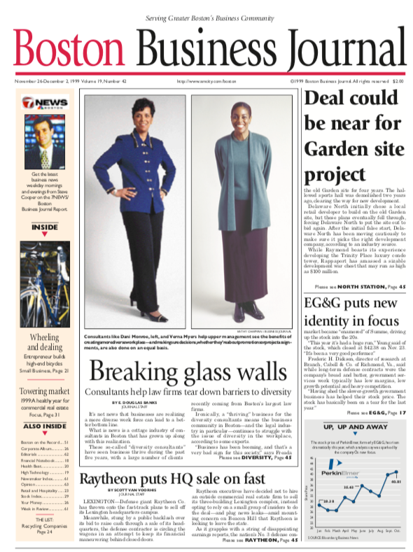 Dani Monroe - Boston Business Journal - Breaking Glass Walls