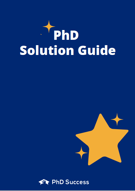 PhD Success Guide Download