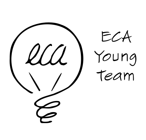 European chartered accountant young team ECA Young team member logo
