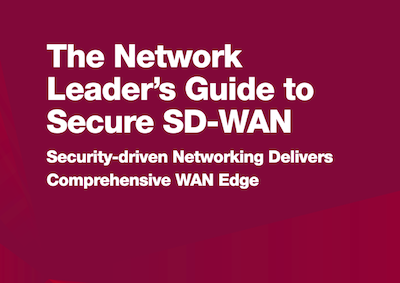 Fortinet Secure SD-WAN eBook cover