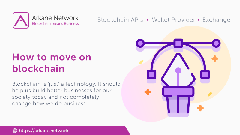 How to move to blockchain?