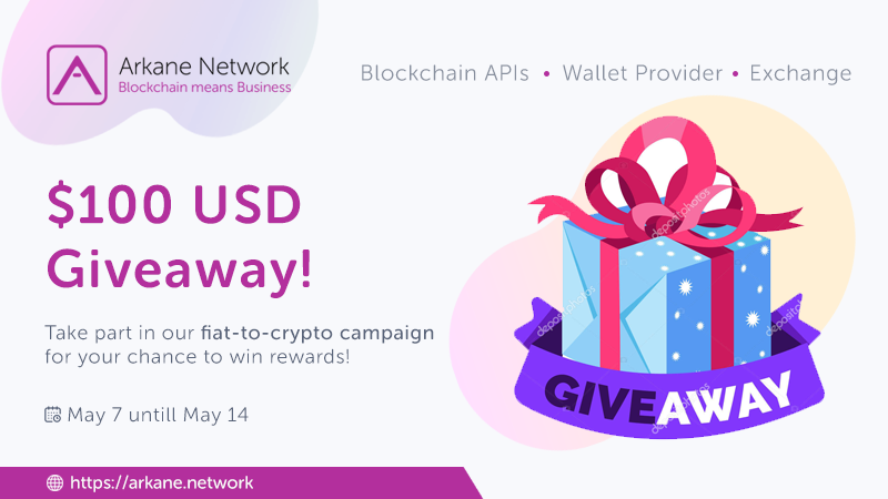 $100 USD Giveaway