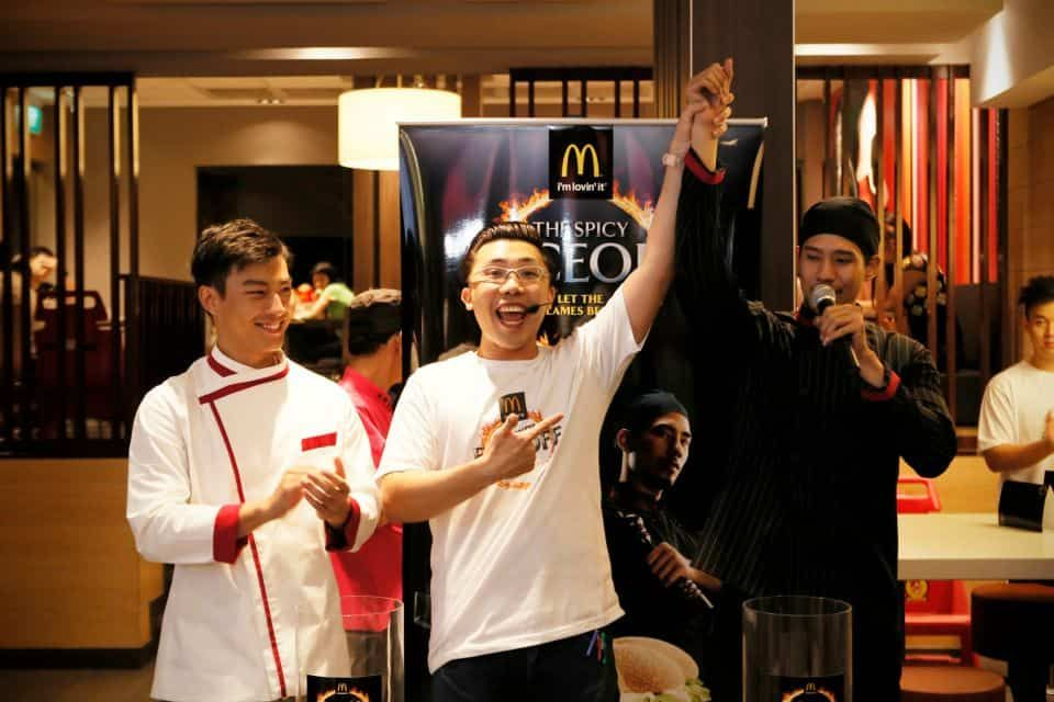 8 McDonalds-McSpicy-FaceOff -brand-activation-emcee-roadshow-road-show-emcee-singapore
