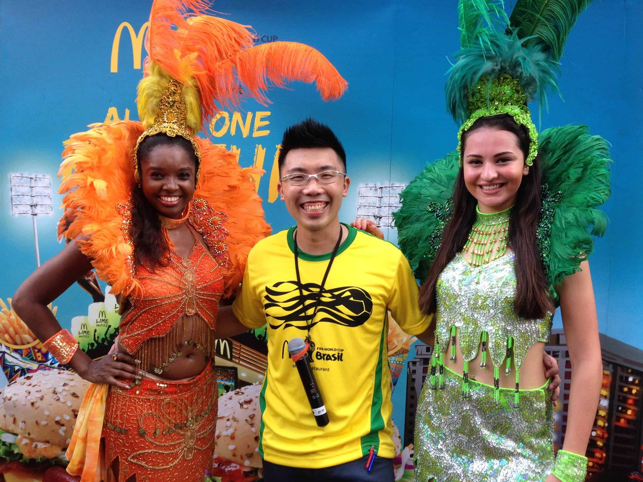 2 McDonalds-Wasabi-Ebi-Burger-Launch-Emcee-MC-Host-Singapore