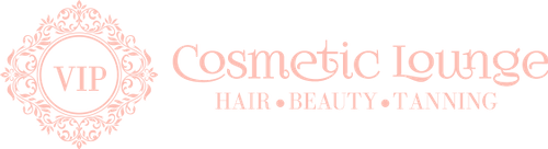 Logo for copywriting client VIP Cosmetic Lounge