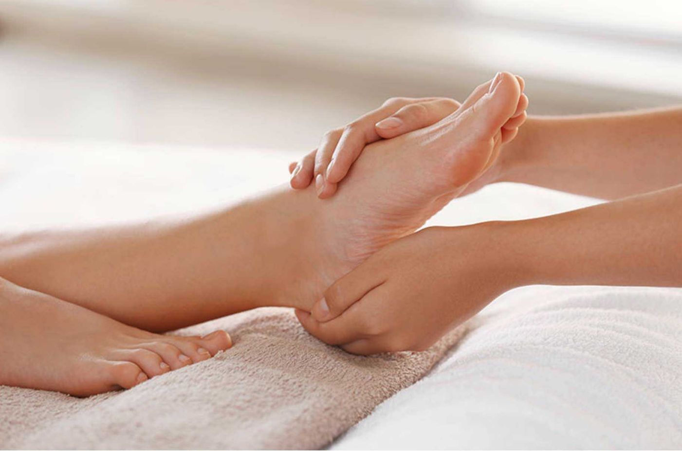 Leg massage ankle and feet massages from VIP Cosmetic Lounge Bournemouth