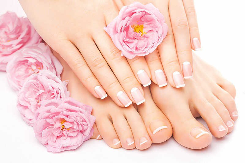 Pedicure Shellac and Gel Polishing Toenail Treatments at VIP Cosmetics Lounge in Bournemouth