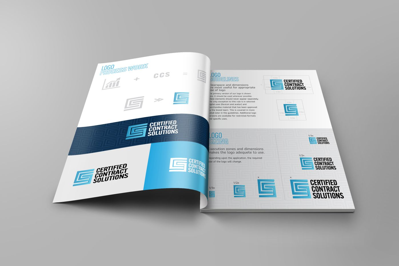 Certified Contract Solutions Brand Guidelines developed by Splurge Media