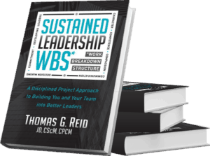 Sustained Leadership WBS Graphic Design by Splurge Media