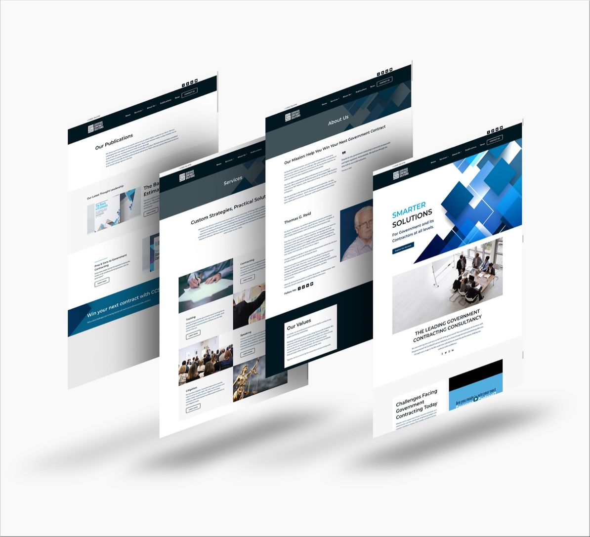 Certified Contract Solutions Website Design and Development by Splurge Media