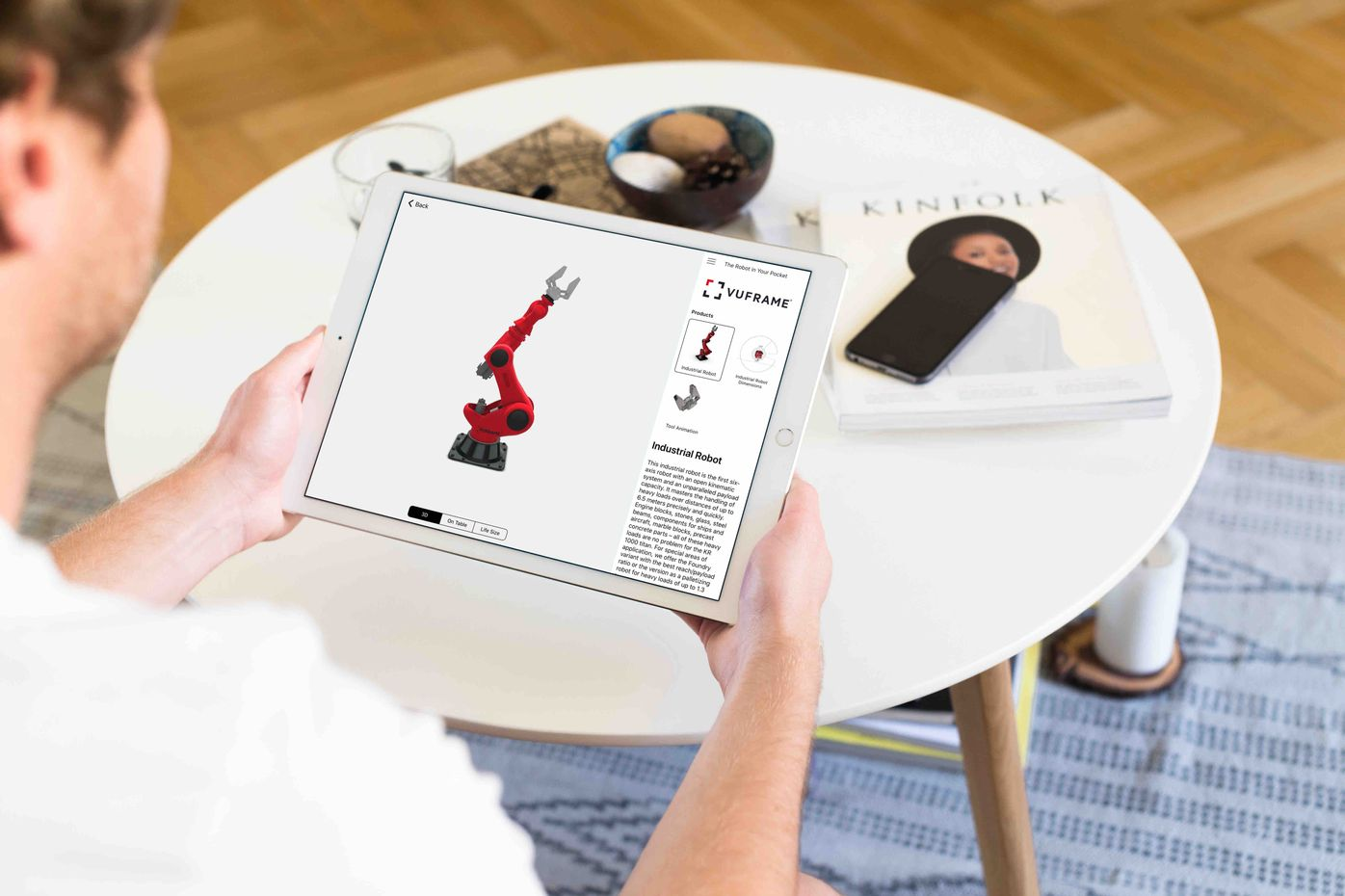 Augmented Reality Creator – Sales Enablement Plattform