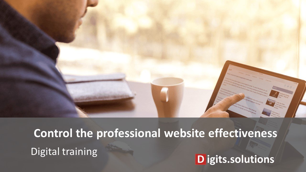 training on the design and control of a website, content, natural referencing, SEO for entrepreneurs and business leaders