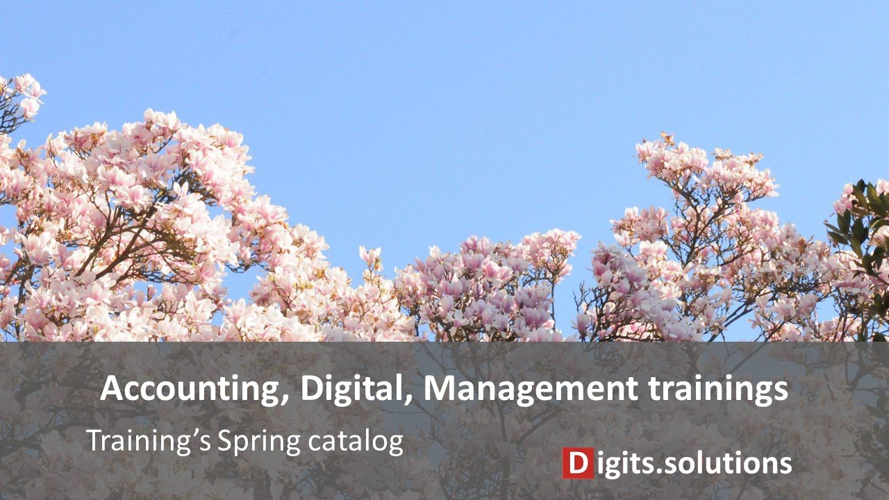 Training on accounting, management and digital