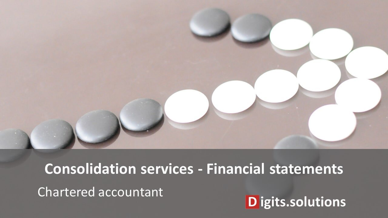 Chartered accountant preparation of the consolidated financial statements