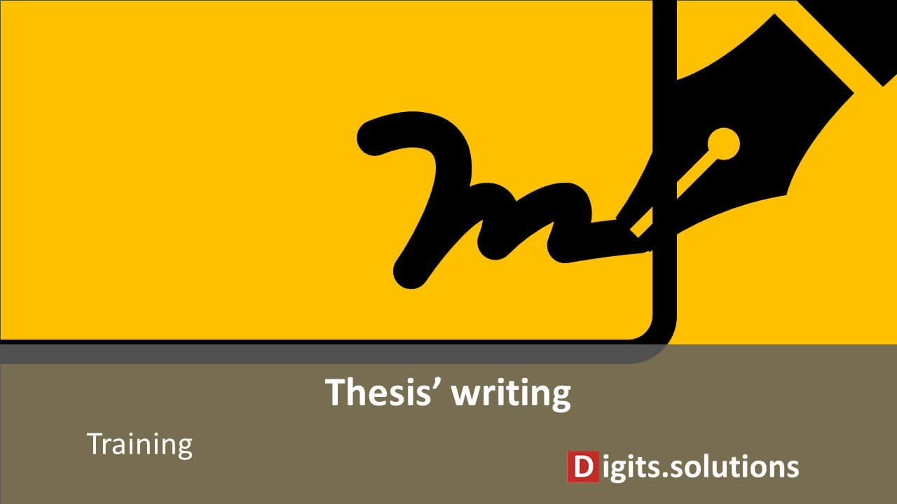 webinar - how to write a dissertation or a thesis