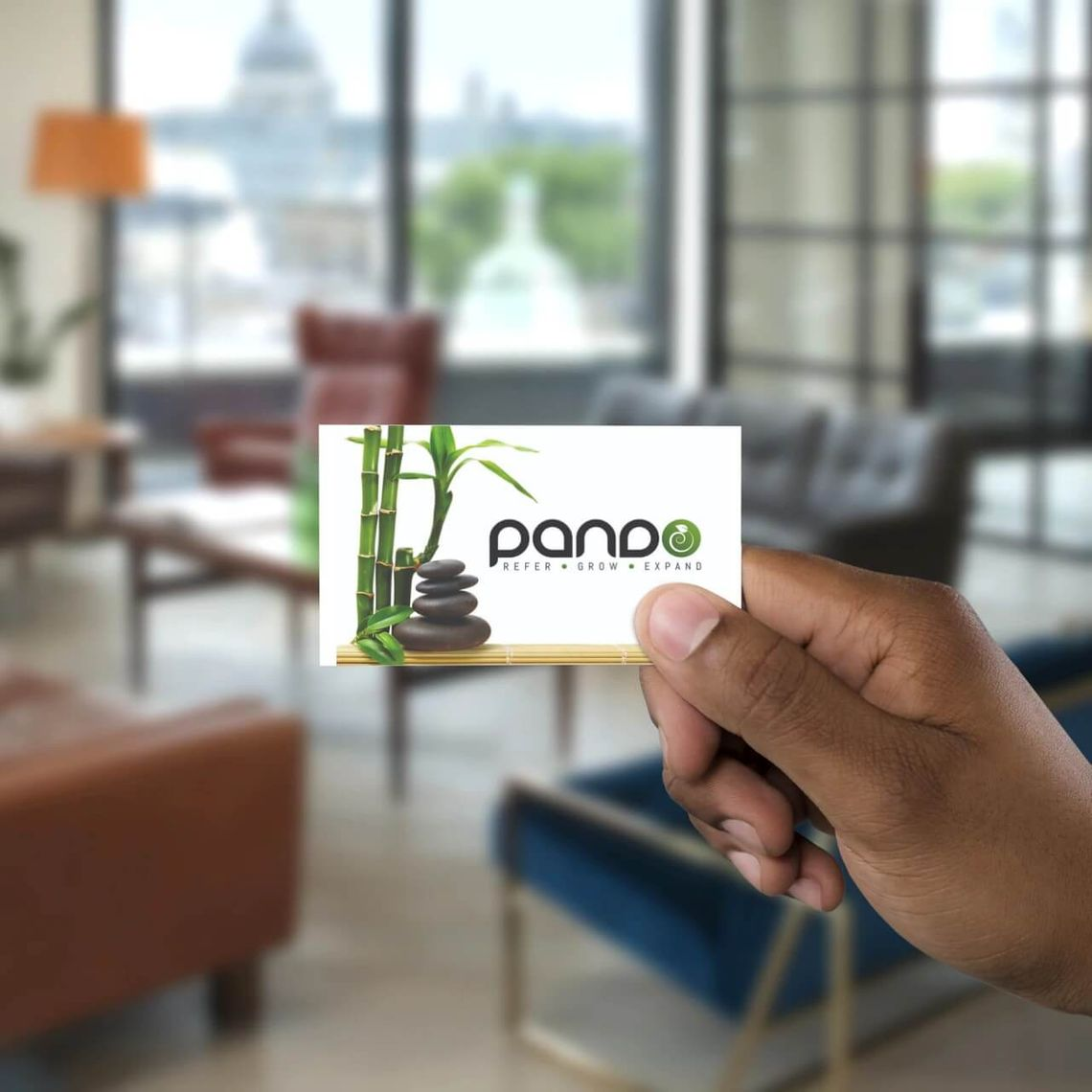 Pando Rewards Card